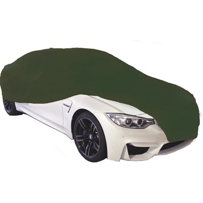 Indoor Car Cover British Racing Green-Small