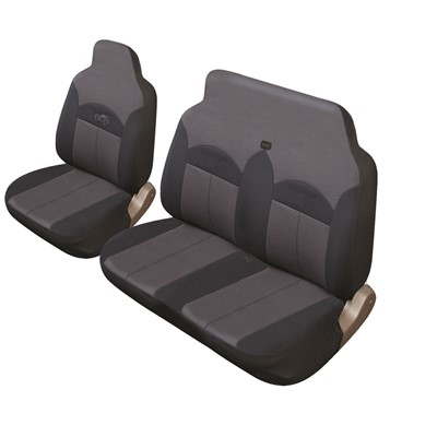 Celsius Commercial - Black/Grey Car Seat Cover