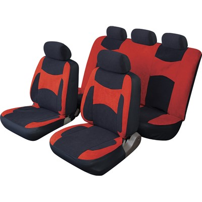 Escape - Standard Full Set - Black/Red - Car Seat Covers