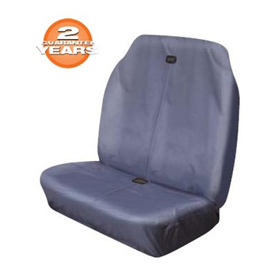 Heavy Duty Hi Back Double Stretch Grey - Van Seat Covers