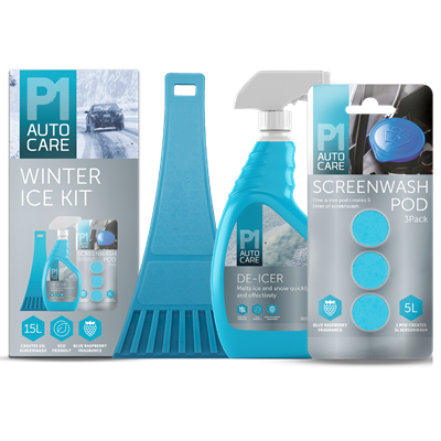 Winter Ice Kit with 3 Screenwash Pods