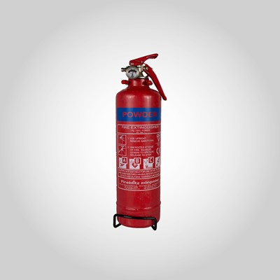 Fire Extinguisher 1kg with gauge and bracket