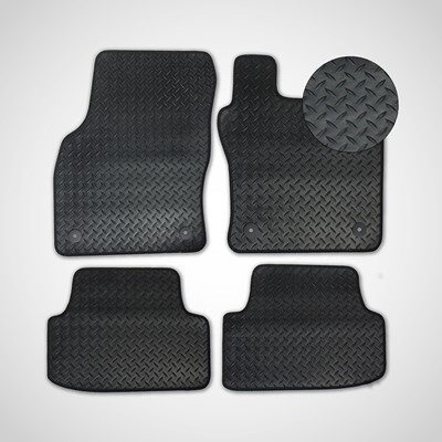 3mm Tailored Rubber Boot Mats for Any Make and Model